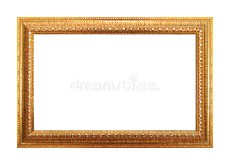 Frame do ouro fotos de stock royalty free