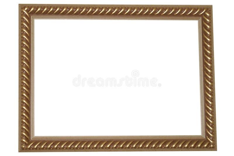 Frame do ouro velho fotos de stock