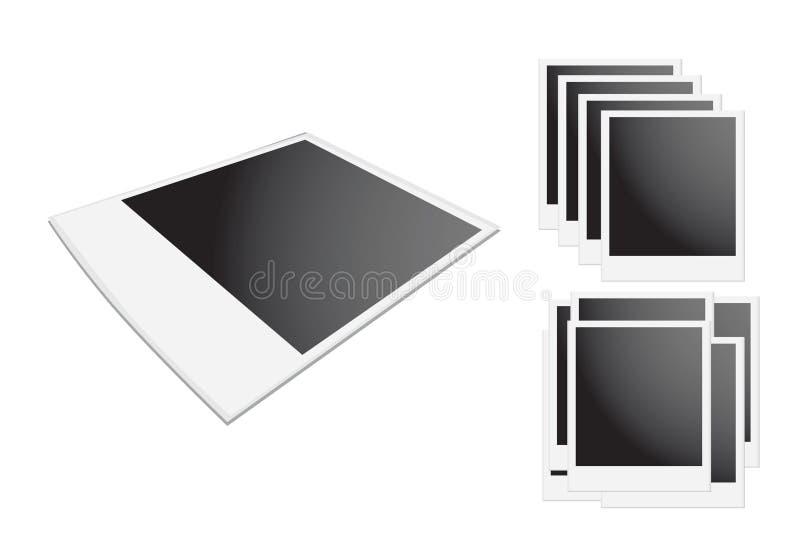 Frame do Polaroid ilustração stock