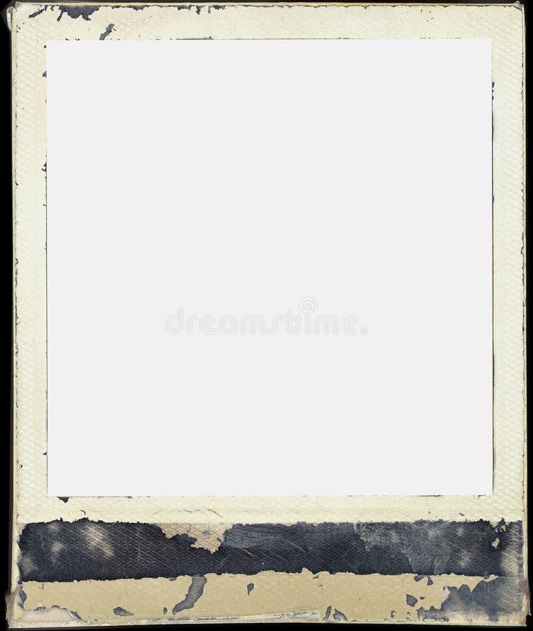 Frame do Polaroid foto de stock