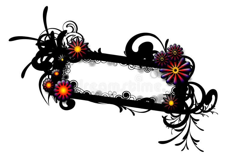 Frame do redemoinho ilustração royalty free