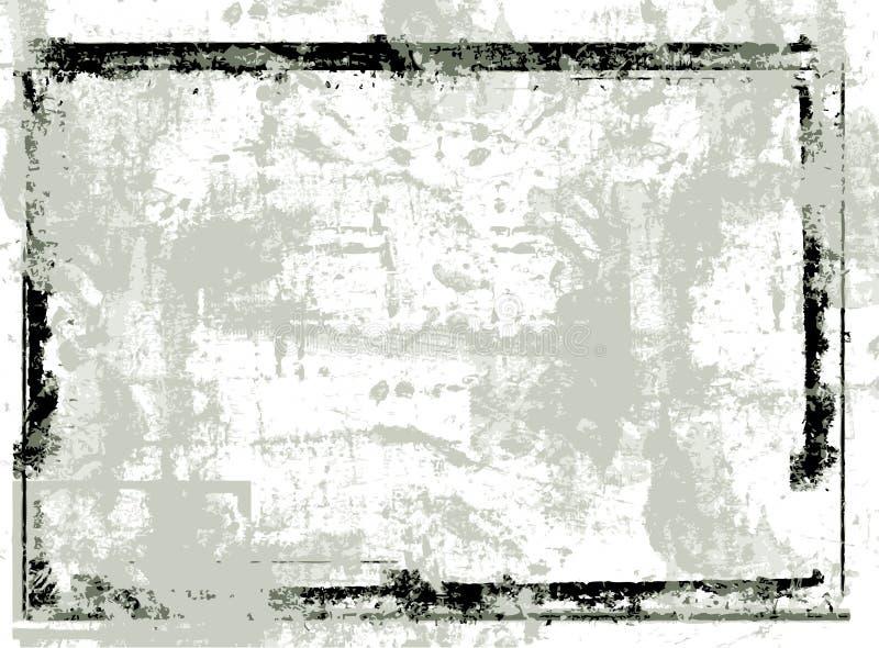 Frame do vetor de Grunge ilustração stock