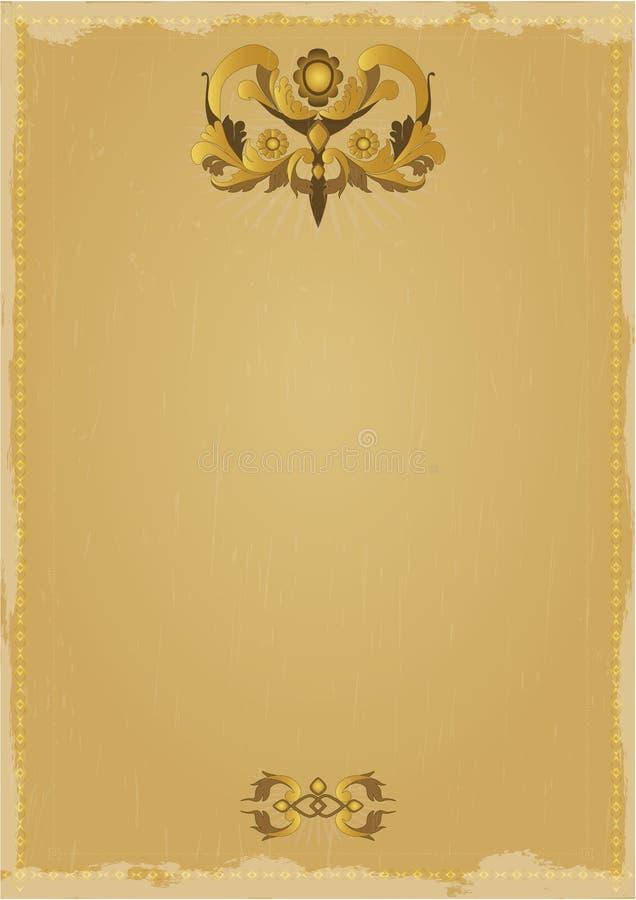 Frame do vintage ilustração stock