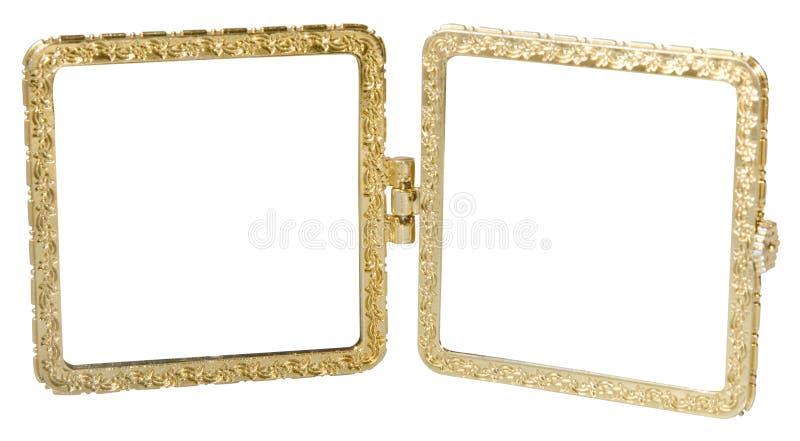 Frame dobro do metal imagens de stock royalty free