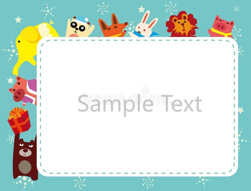 Download Frame dos animais ilustração do vetor. Ilustração de animal - 16868306