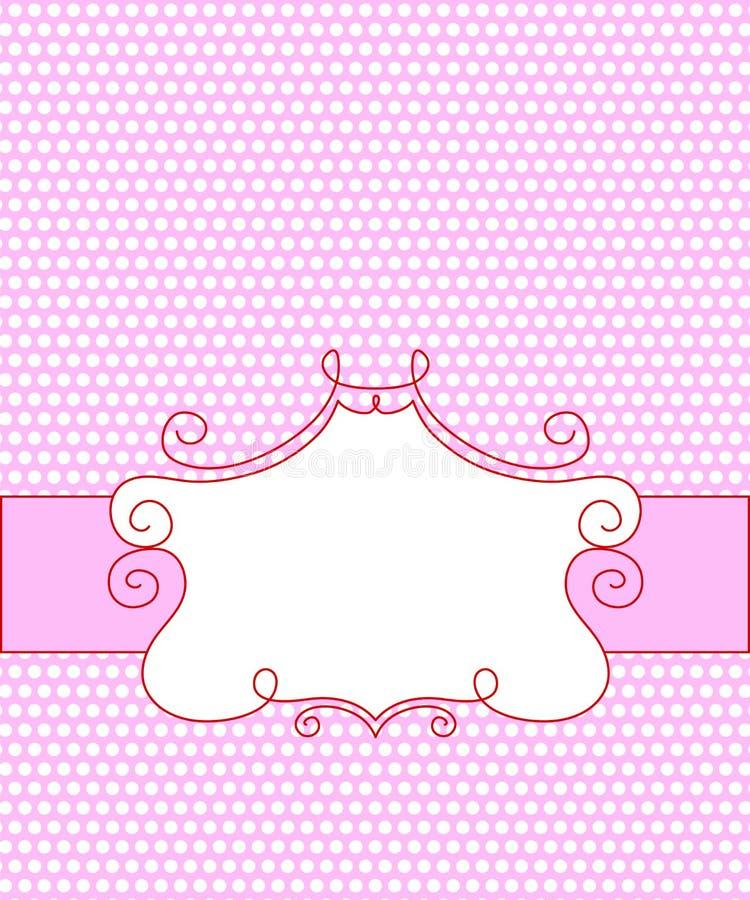 Frame dos doces ilustração do vetor