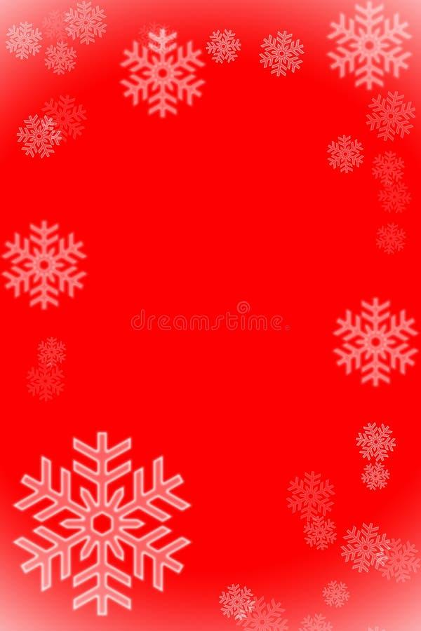 Frame dos flocos de neve fotos de stock