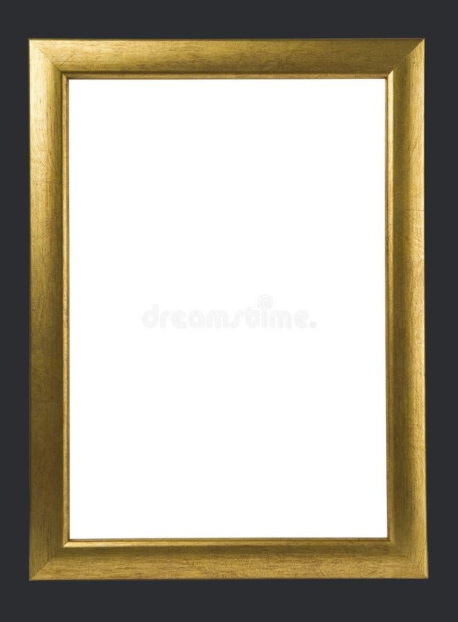 Frame dourado antigo foto de stock royalty free
