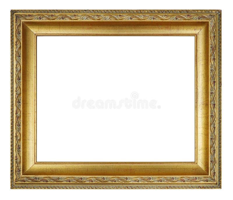 Frame dourado do vintage fotos de stock royalty free
