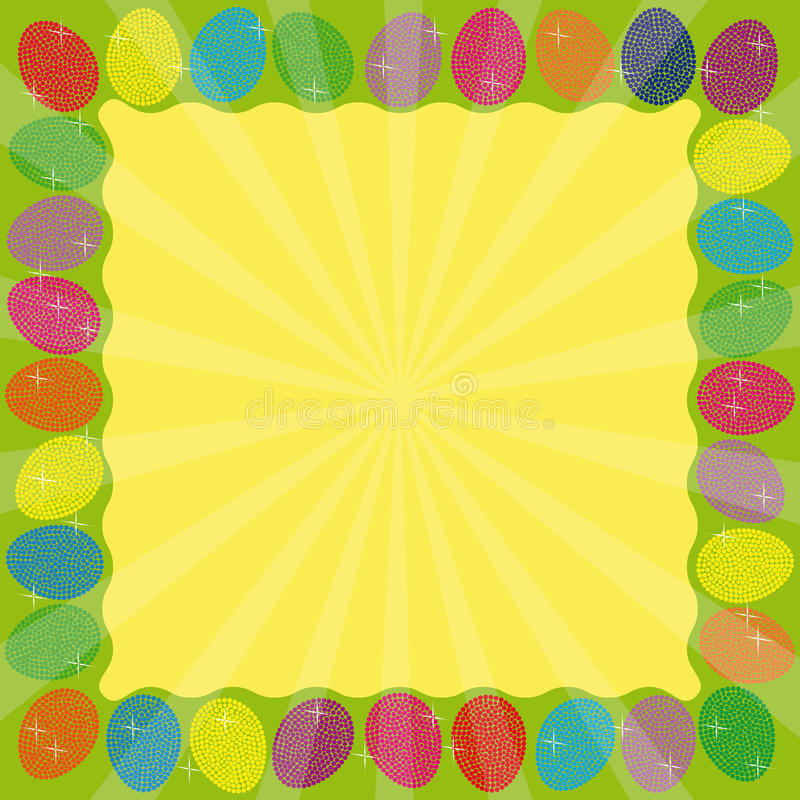 Free Frame Easter Royalty Free Stock Photos - 18728018