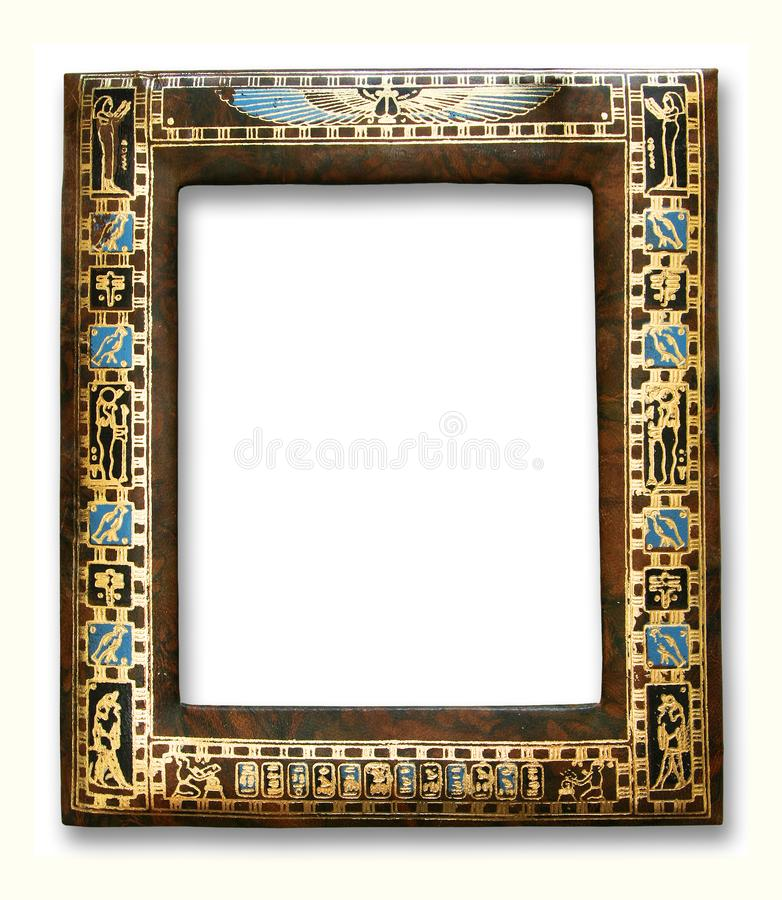 Frame egípcio foto de stock
