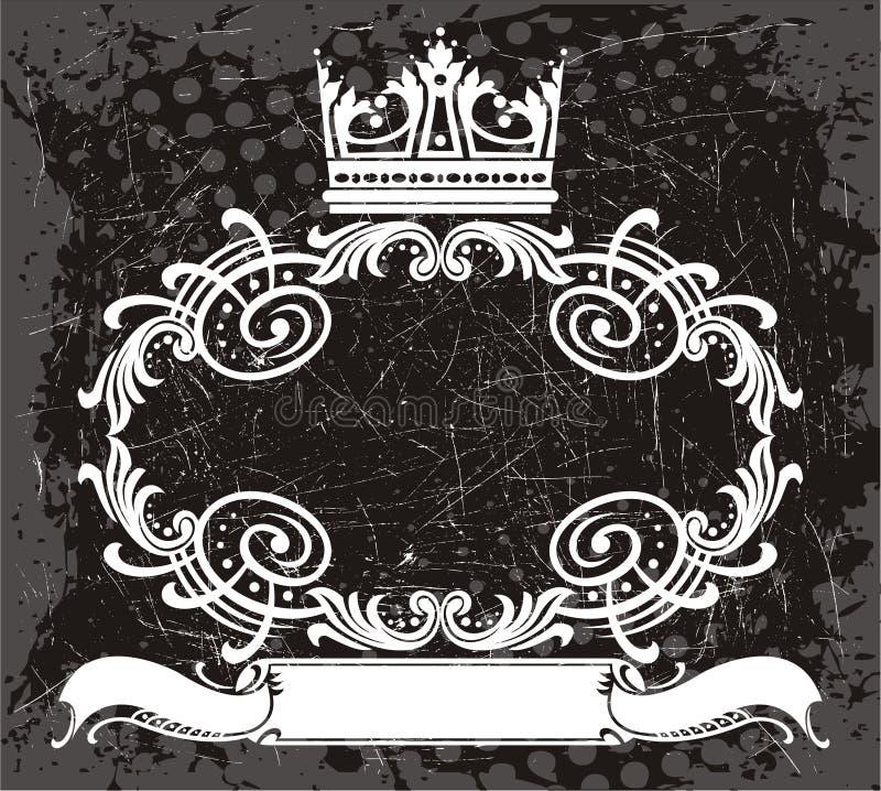 Frame element vector illustration