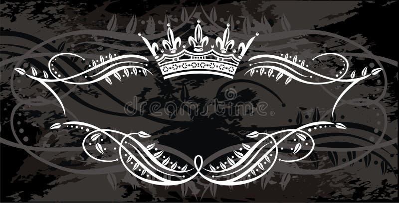 Frame element royalty free illustration
