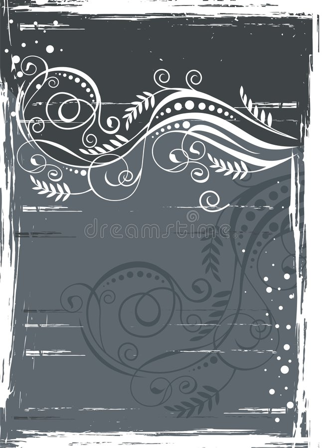 Download Frame element stock vector. Image of collage, floral, abstract - 8779492