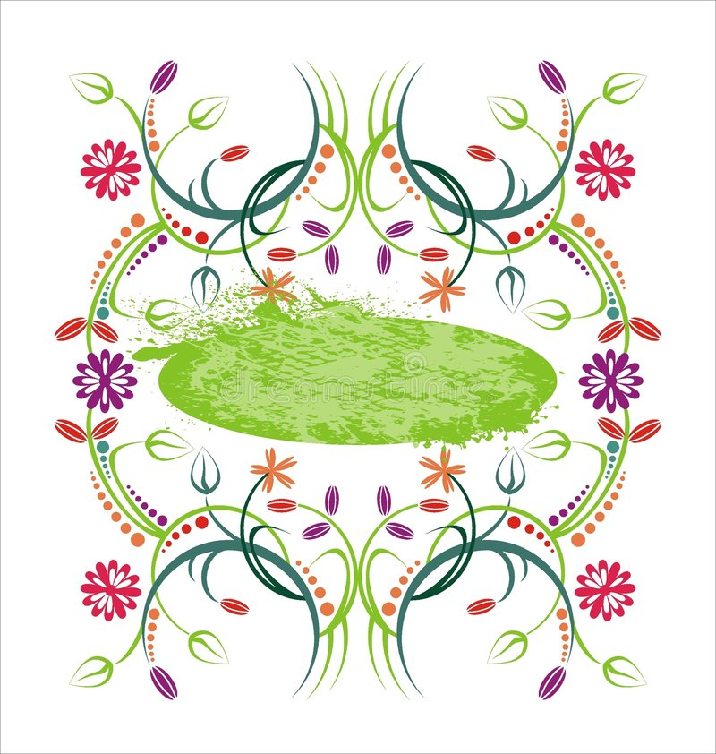 Download Frame element stock vector. Image of dirty, decoration - 8779574