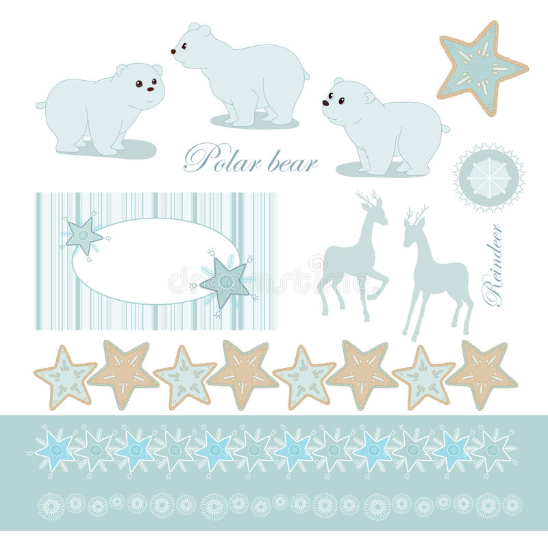Download Frame and elements stock vector. Image of card, pattern - 33921469