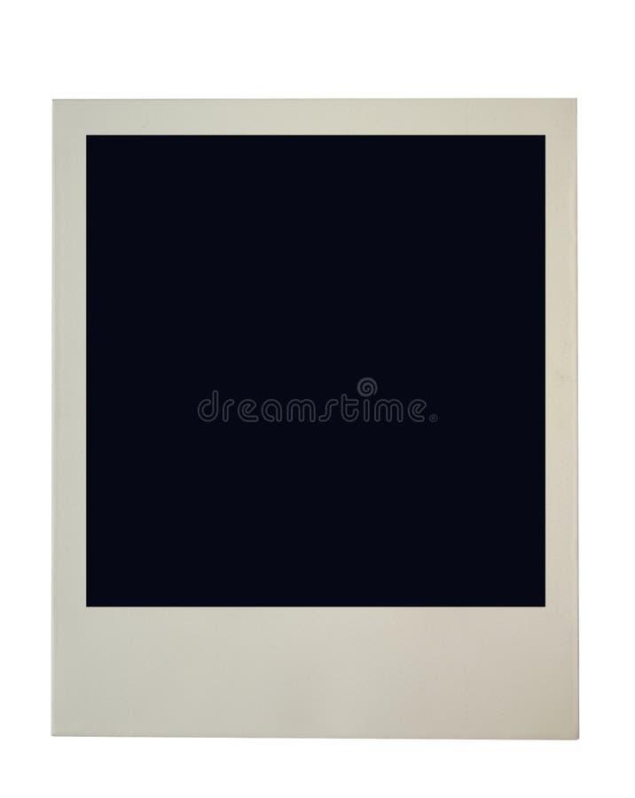 Frame em branco do polaroid foto de stock