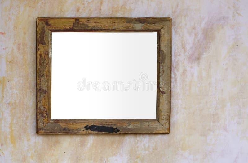 Frame em branco do vintage, sujo e gasto fotos de stock
