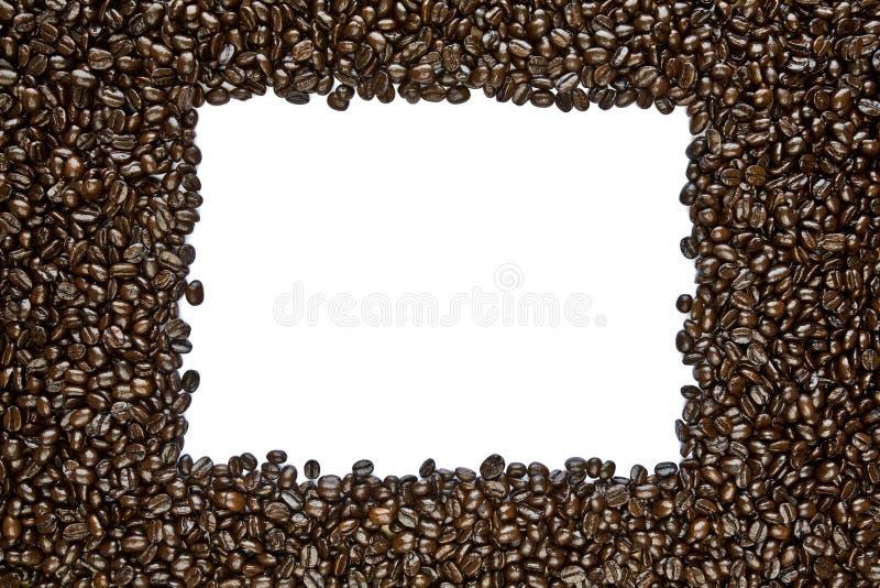 Frame escuro do feijão de café do assado imagens de stock