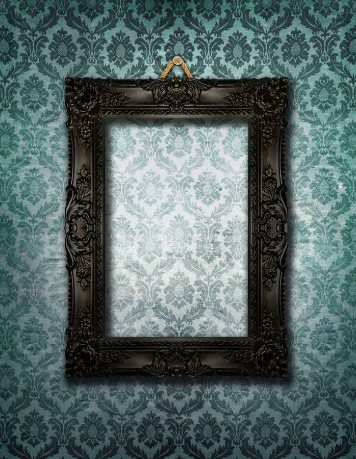 Frame extravagante da foto ilustração stock