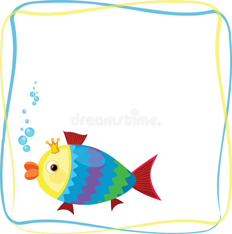 Frame with fish stock photos image 36469183 for Fish photo frame