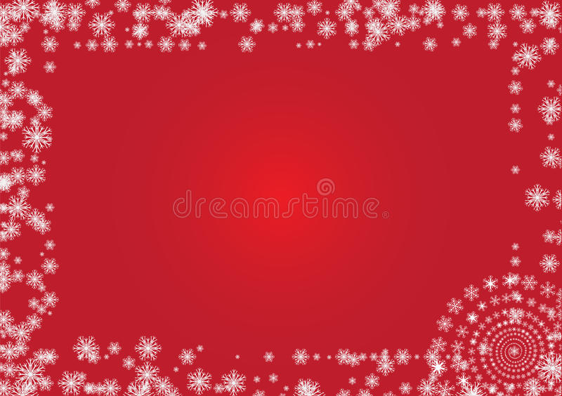 Download Frame from flakes stock vector. Image of flake, clipart - 27924087