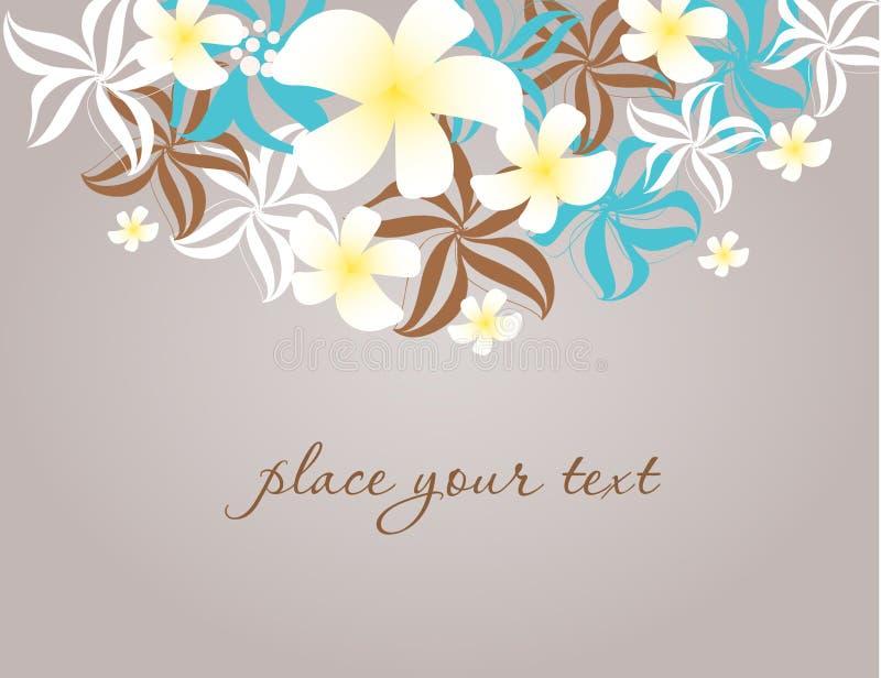 Download Frame floral do vintage. ilustração stock. Ilustração de grunge - 16860404