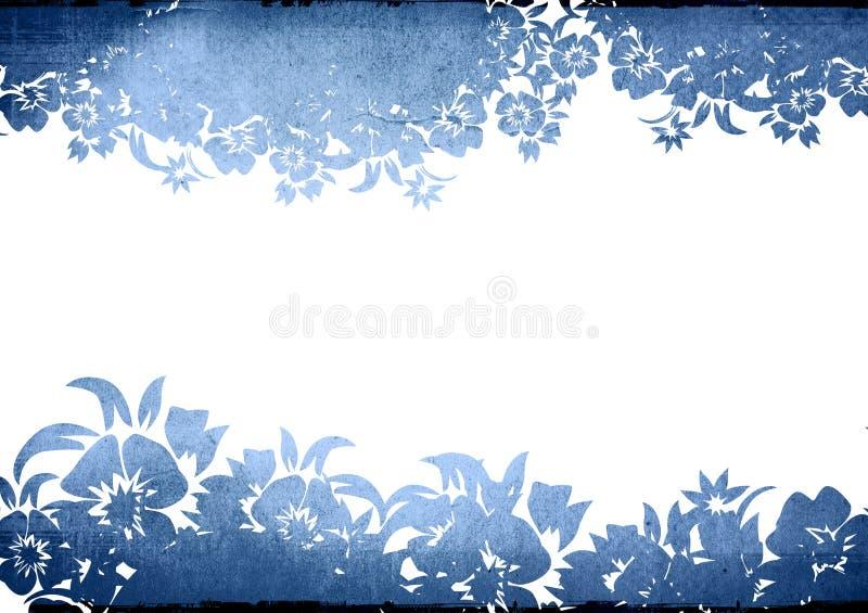 Frame floral dos fundos do estilo ilustração royalty free
