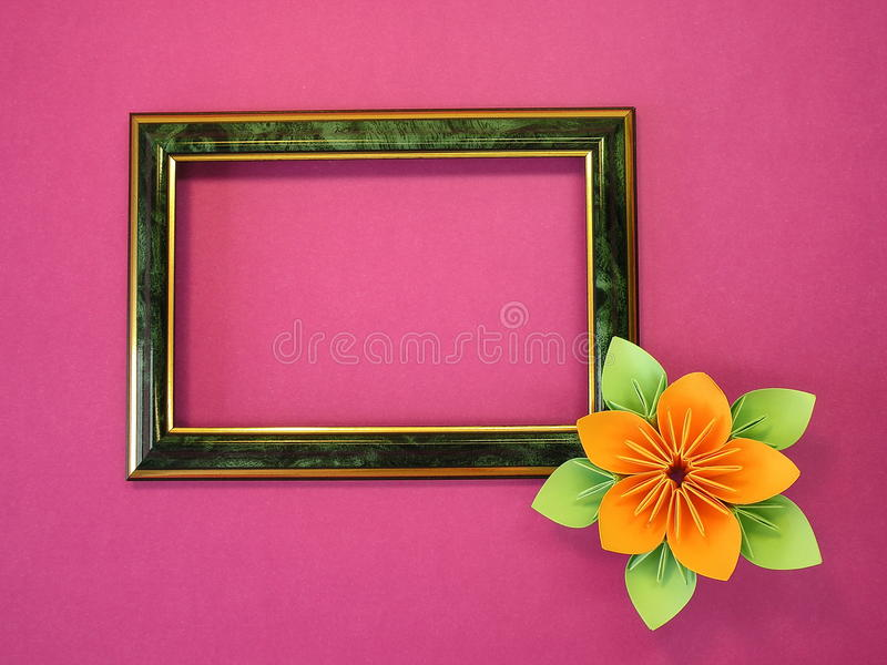 Download Frame and flower stock image. Image of greeting, frame - 15553747