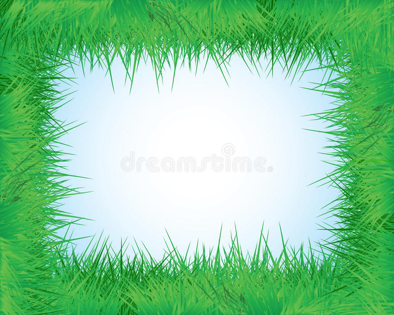 Download The frame of the grass stock vector. Image of picture - 24146241