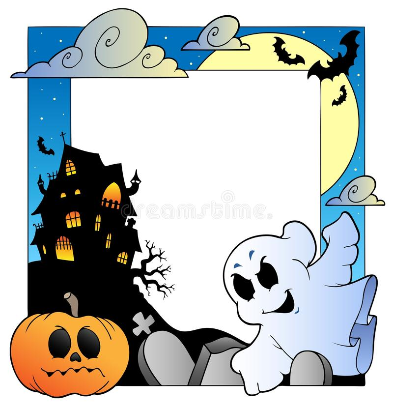 Download Frame With Halloween Topic 1 Stock Vector - Image: 20871117