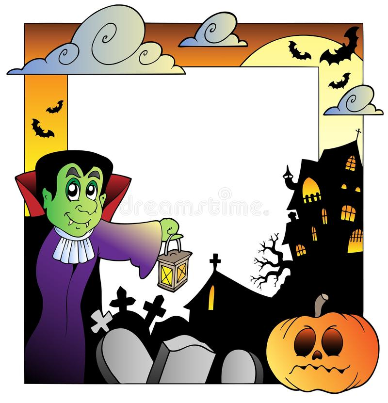 Download Frame With Halloween Topic 2 Stock Vector - Image: 20871049