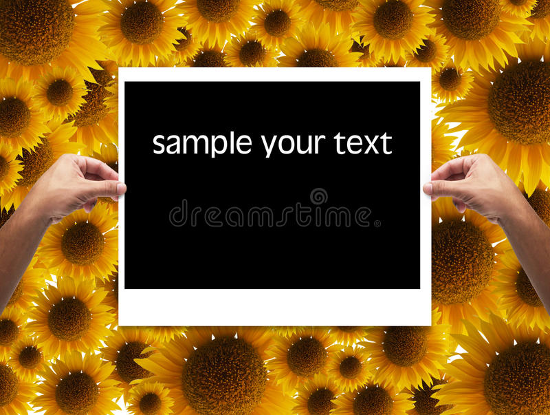 Download Frame In Hand Royalty Free Stock Image - Image: 23430126