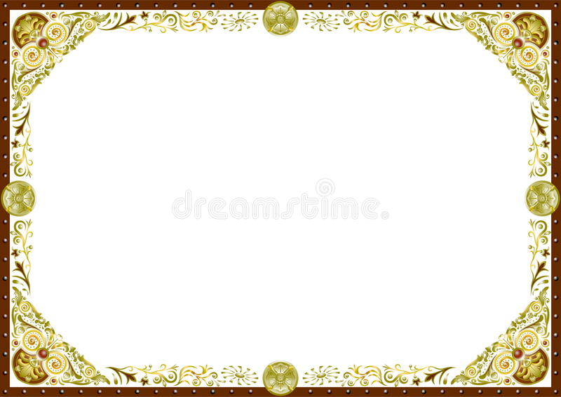 Frame horizontal royalty free stock photos