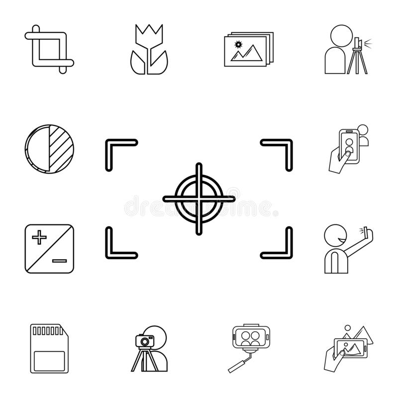 Picture Frame Icon  Elements Of Art Tools Multi Colored Icons