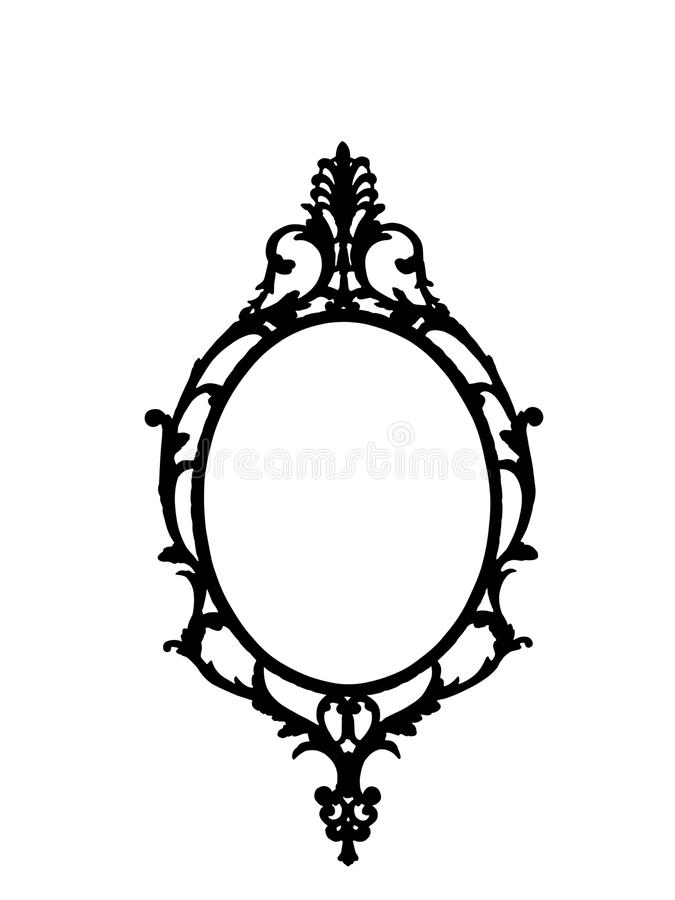 Free Frame In Silhouette Royalty Free Stock Photo - 14607475