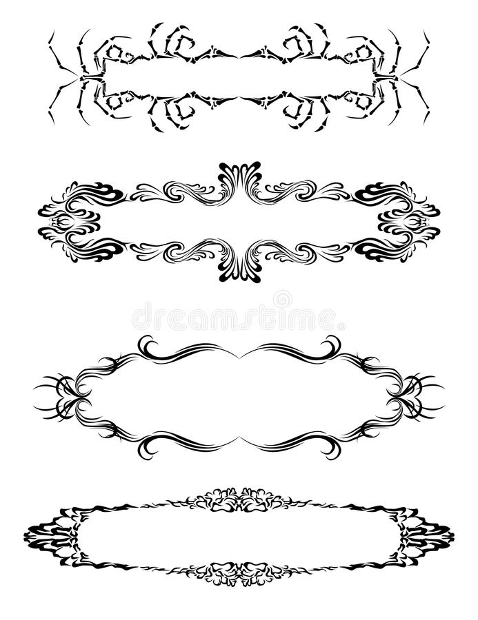 Download The Frame For The Inscriptions. Stock Vector - Image: 10696839