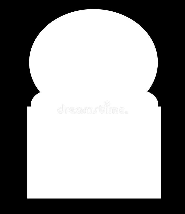 Frame islâmico ilustração do vetor