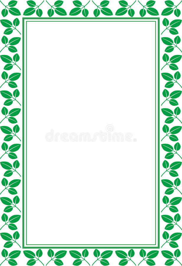 Download Frame With Leaves Royalty Free Stock Photo - Image: 25376135