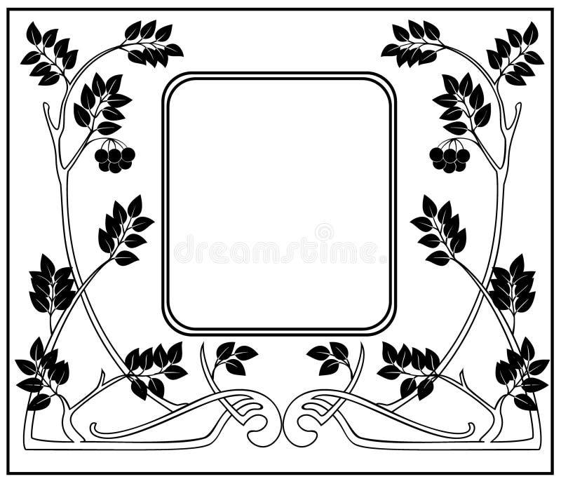 Frame like Art Nouveau vector illustration