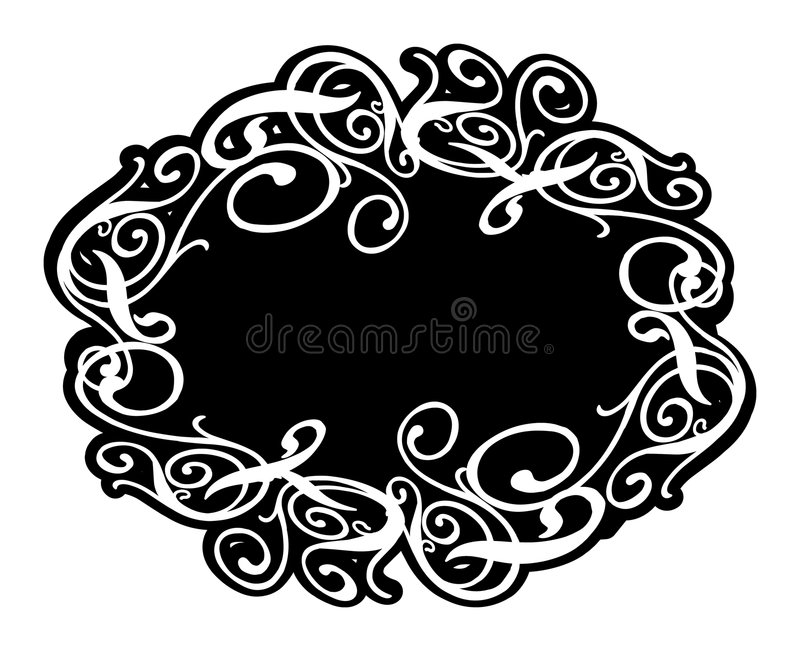 Download Frame Lullaby stock vector. Illustration of frame, black - 1964012