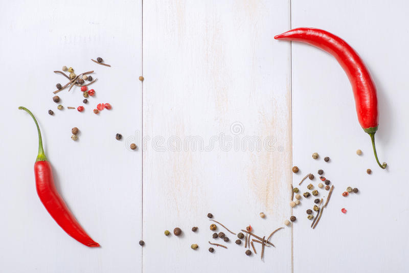 Frame For A Menu Or Recipe. Top View. Stock Illustration ...