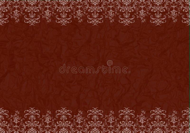 Frame met geweven achtergrond vector illustratie