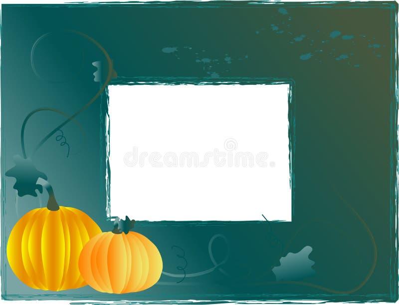 Download Frame met pompoenen vector illustratie. Illustratie bestaande uit grafisch - 10780977