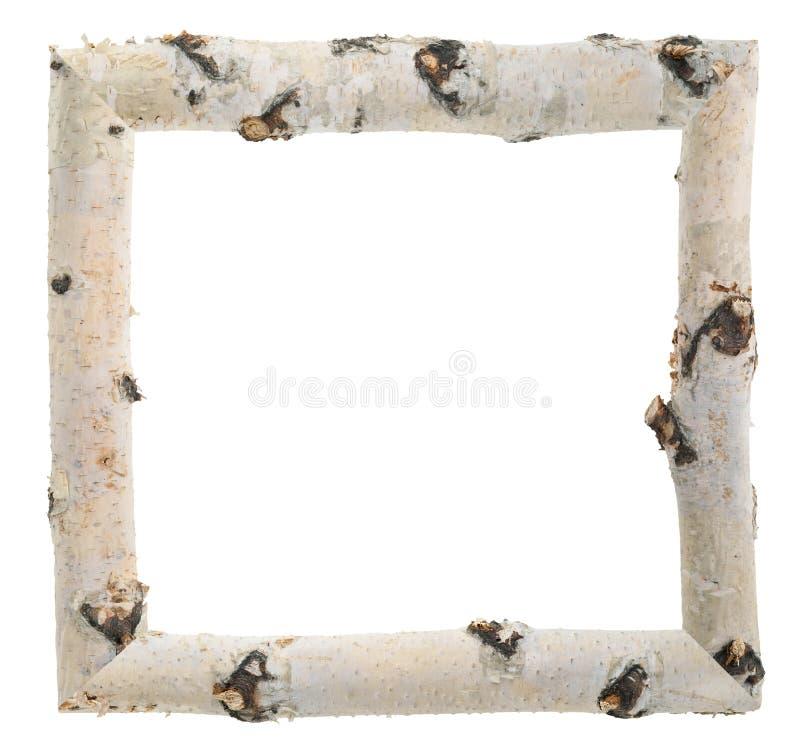 Free Frame Of Birch Logs Royalty Free Stock Image - 59197566