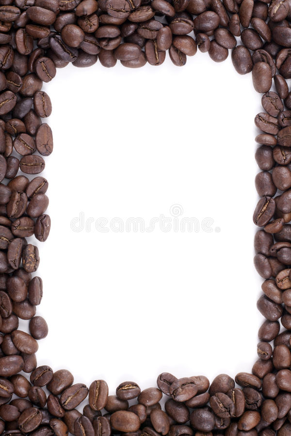 Free Frame Of Dark Roasted Coffee Beans Royalty Free Stock Photography - 17020547