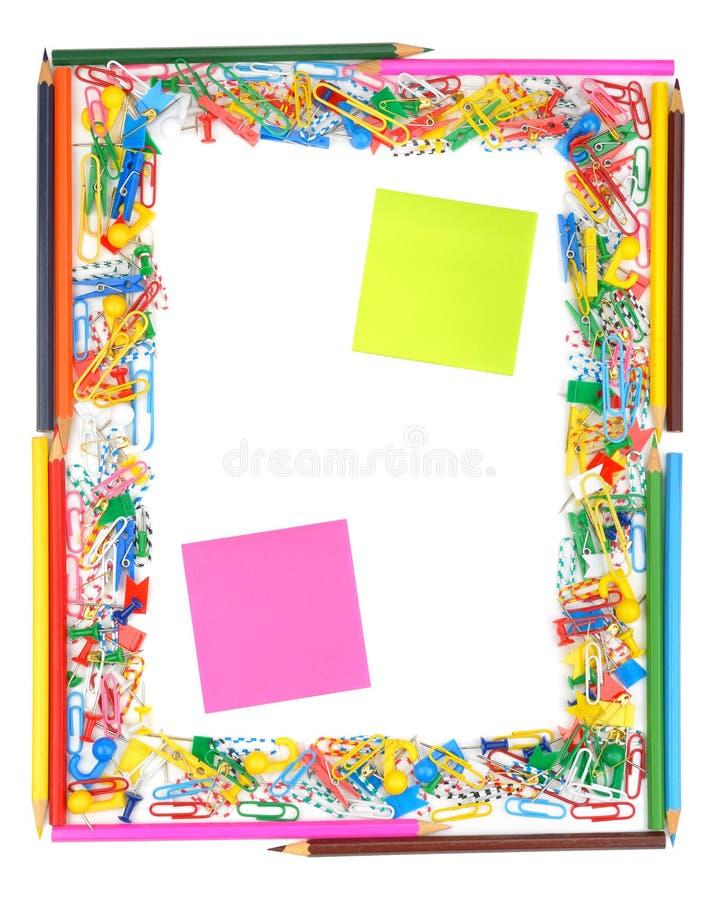 Download Frame of office supplies stock image. Image of framework - 36782437