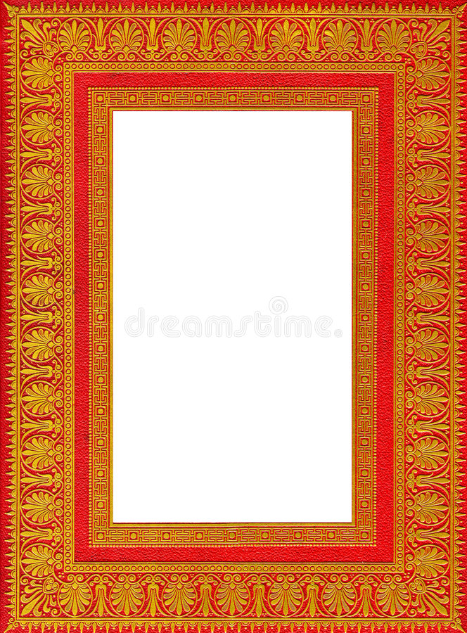 Download Frame Of An Old Ancient Book Royalty Free Stock Images - Image: 3297699