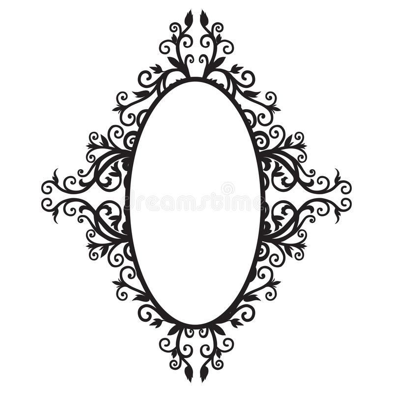 Download Frame ornament-01 stock illustration. Image of illustration - 23657569