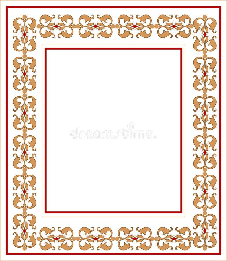 Frame with ornament. Vector Illustration vector illustration